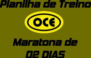 Planilha OCE - Maratona 02 Dias