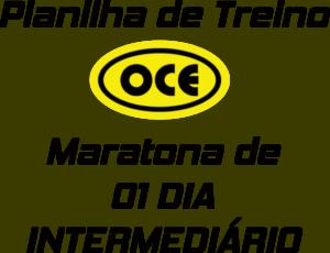 Planilha OCE - Maratona 01 Intermediário