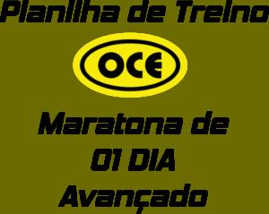 Planilha OCE - Maratona 01 Dia Avançado